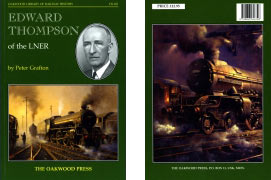 Book on Edward Thompson - LNER Chief Mechanical Engineer