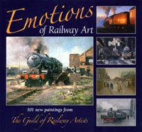 Emotions of Railway Art - book