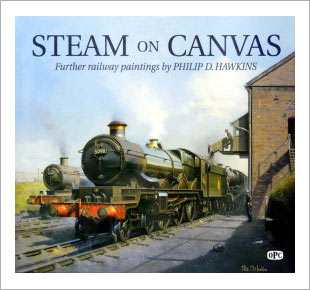 Railway art book: Steam on Canvas
