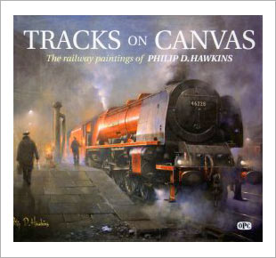 Track on Canvas - Railway art book