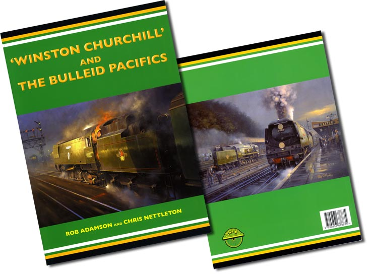 'Winston Churchill' and the Bulleid Pacifics - Railway book